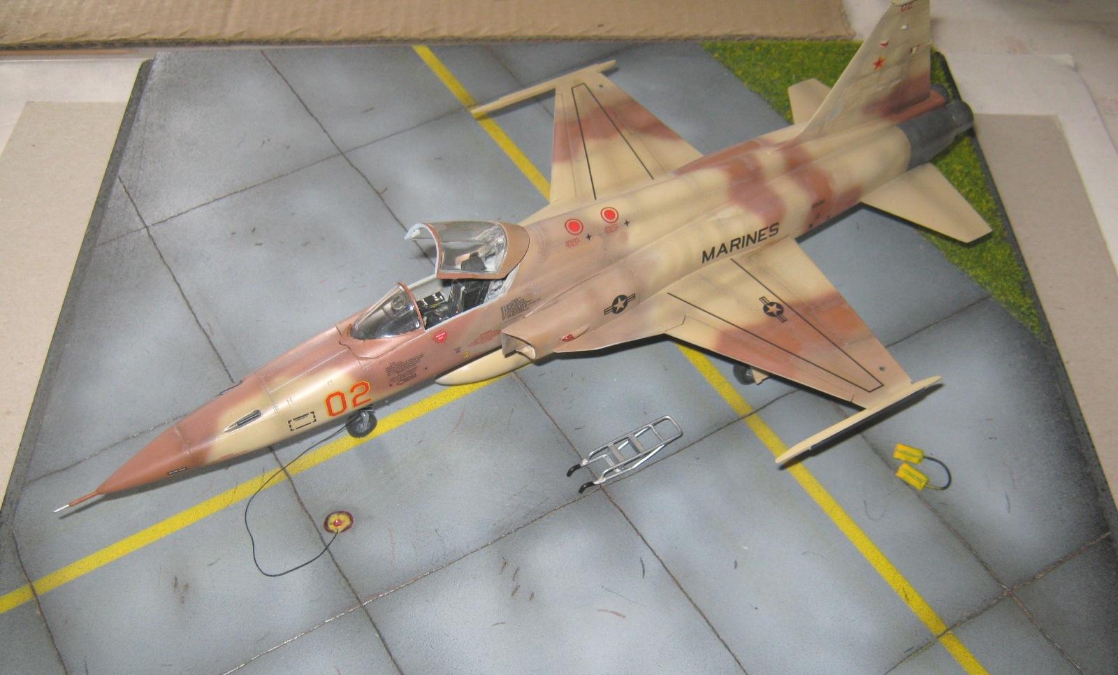 Northrop F5E Tiger II sc.48 -VMAT 401 AGGRESSORS