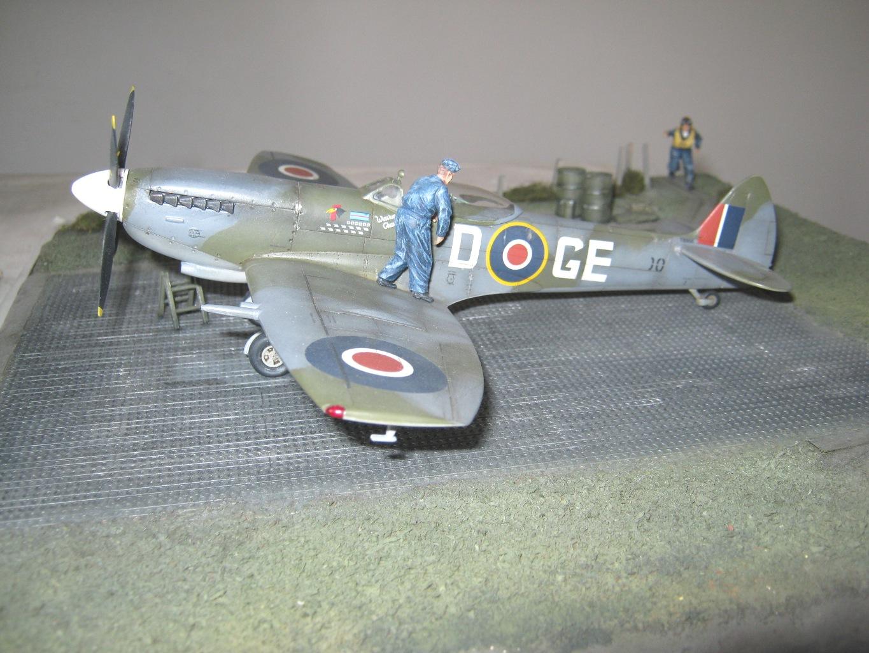Spitfire Mk.XVIe sc48 Caccia dell'Asso Belga RJ Lallemant